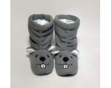 Детские тапочки-сапожки Мышка с ушками