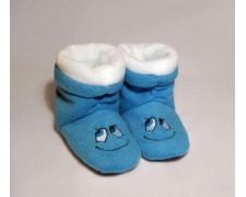 Домашние тапочки-сапожки Синяя улыбка