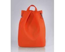 Женский рюкзак в стиле Rebecca Minkoff оранжевый №14