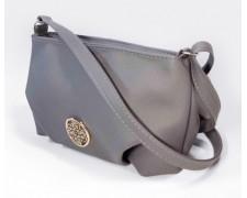 """Женская сумка-клатч """"Kleo"""" (серая) №17"""