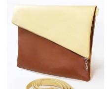 """Женская сумка """"Tiffany""""1 (бежево-коричневая)"""