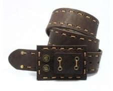 Оригинальный кожаный ремень ручного пошива (ВТ-18)