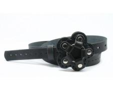 Стильный кожаный ремень (узкий) (ВТ-24)