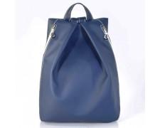 Женский синий рюкзак ручной работы Ребекка №05