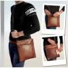 Мужская сумка – планшет «Leon» №16  коричневая матовая