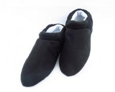 Домашние тапочки Comfort короткие черные