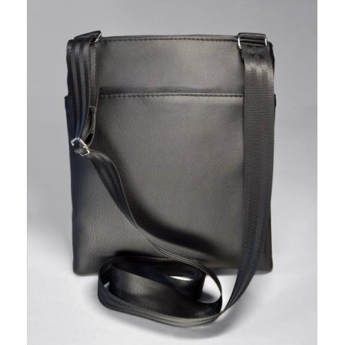 d5bb9e1e8f20 Купить летнюю мужскую сумку– планшет из эко-кожи матовую черную недорого