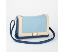 Сумка в стиле Chanel (Шанель) синяя (chanel01)