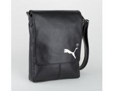 Мужская сумка через плечо Puma (черная или коричневая) (арт.SBoss_puma)