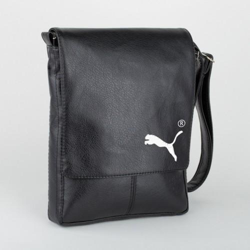 eba7402c770c Мужская сумка через плечо Puma (черная или коричневая) (арт.SBoss_puma)