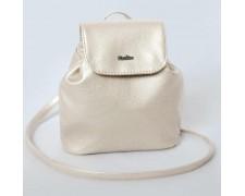 Женский маленький рюкзак-сумка Белая Жемчужина 02