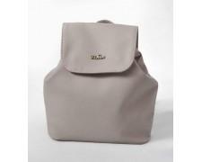 Женский маленький рюкзак-сумка Серая Жемчужина 04