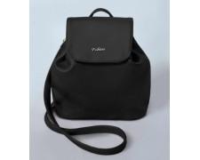 Женский маленький рюкзак-сумка Черная Жемчужина 06
