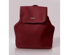 Женский маленький рюкзак-сумка Спелая Вишня 11