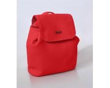 Женский маленький рюкзак-сумка Красный 19