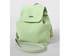 Женский маленький рюкзак-сумка мятного цвета 22